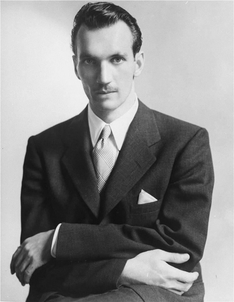 Jan Karski podczas misji w Stanach Zjednoczonych, lipiec 1943 roku