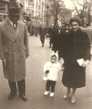 Stanisław and Krystyna Blatter with daughter Sabina