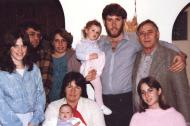 Nomi Kapel with her family