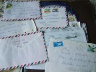 The letters recived from Hania Tal