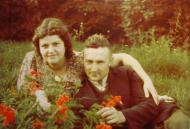 Barbara and Stanislaw Stankiewicz during the occupation.