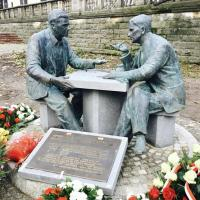 Henryk Sławik and József Antall Monument Unveiled in Warsaw