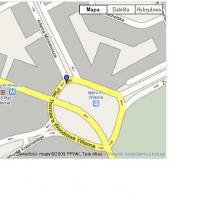 Interactive maps showing places of hiding