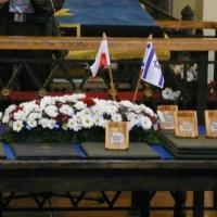 The ceremony of awarding thirteen Poles with the Righteous Among the Nations medals