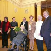 Ceremony of awarding the Righteous Among the Nations medal